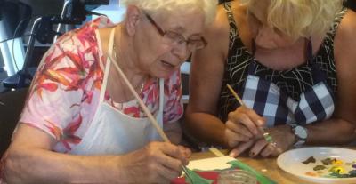 Seniorenopvang bij de Kruidenhoeven in Milheeze